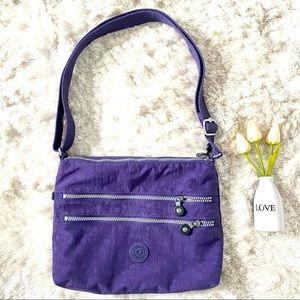 Kipling Alvar Crossbody Bag Dazz Purple